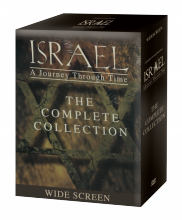 ISRAEL: A Journey Through Time - DVD set and book